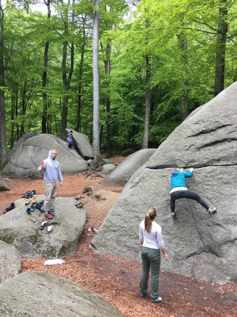 Bouldern Odenwald Gruppe
